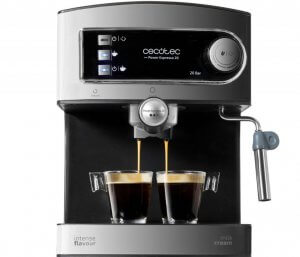 Cecotec coffee machines are great for making espressos and cappuccinos.