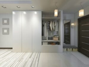 You can use mobile apps to help design you custom made closet.