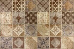 earth tone tiles