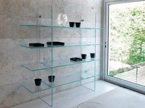 Tips for Decorating with Glass Shelves