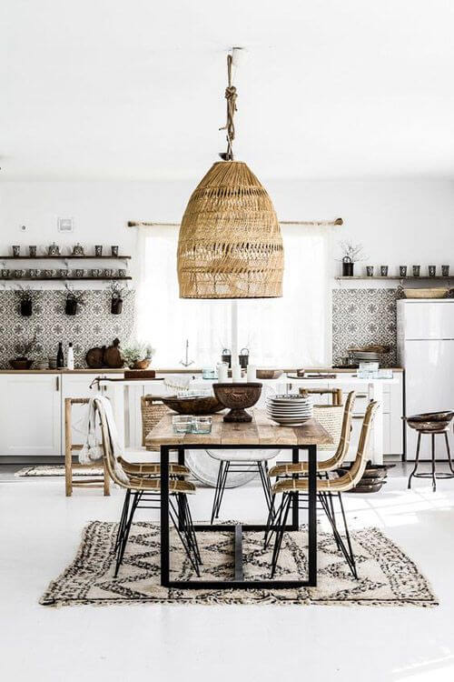 Combinations Of Wood And The Color White Decor Tips