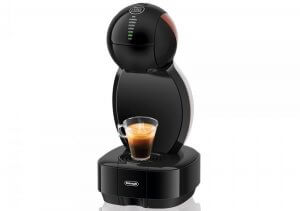 Nescafé dolce gusto coffee machines have a compact design, making them great for small spaces.