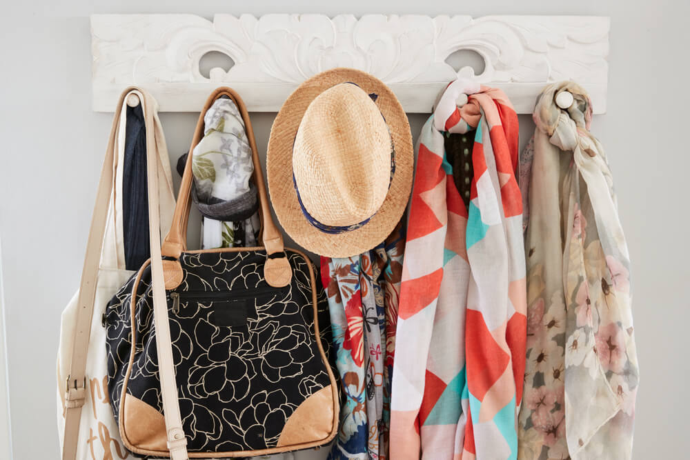How to Create a Coat Rack From Reused Objects