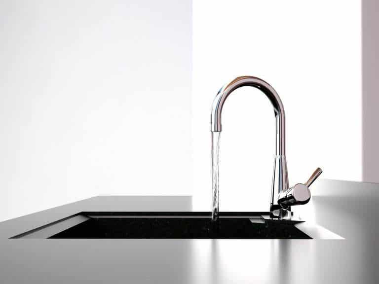 A Kitchen Faucet as a Decorative Item