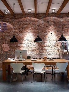 basement office