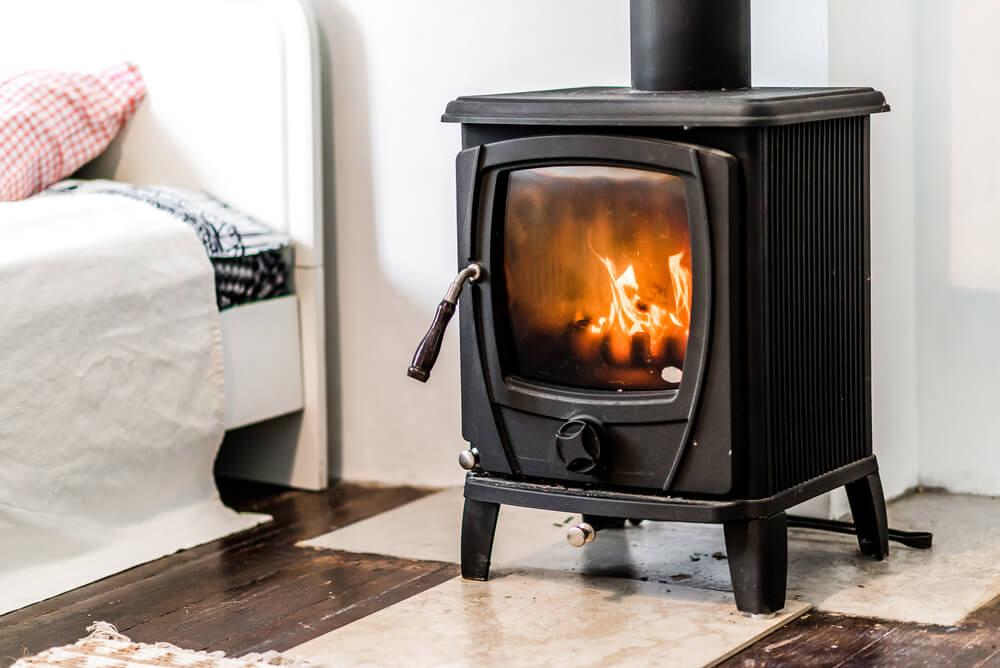 bedroom fireplace 2