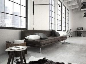 industrial avant-garde apartment