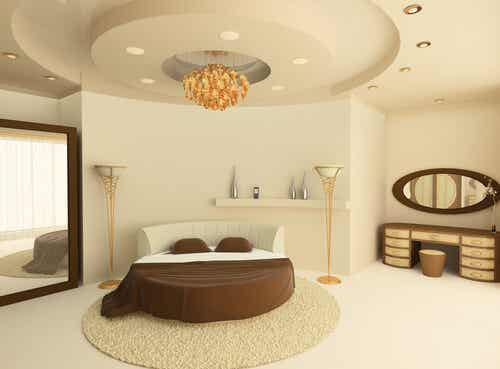 Give your Bedroom an Original Touch with a Round Bed