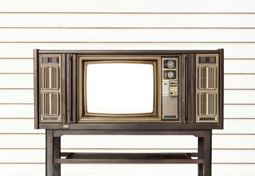 5 Original Ways to Decorate with an Old Television Set