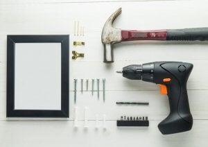 the tools you need to make a proper hole in your wall
