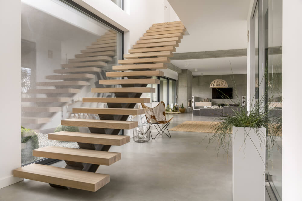 wooden stairs 1