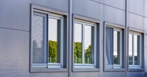 aluminum frame windows