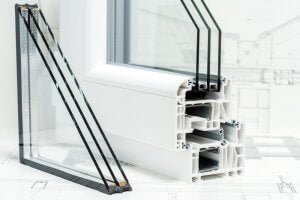 Windows with air pockets can help you soundproof your house.