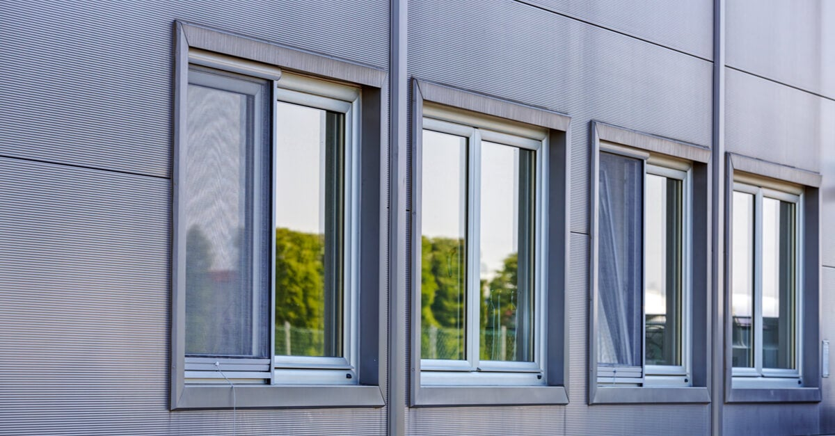 Sliding double windows are very popular and practical hinged windows.