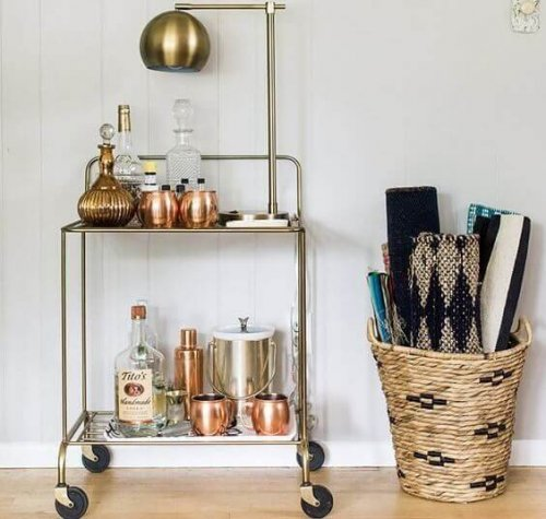 How to Make a Bar Cart