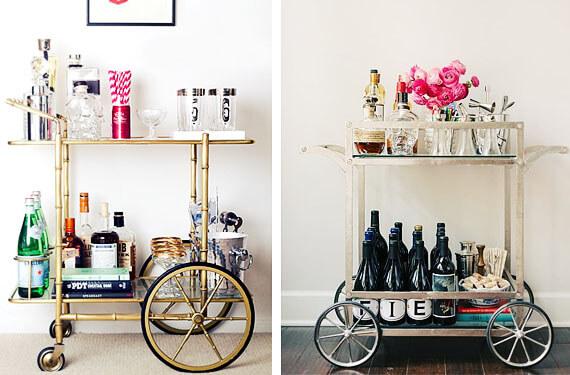 DIY bar cart types