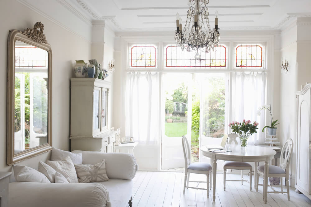 french decor style wall color