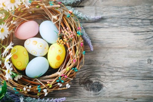 Easter Wreaths to Spruce Up Your Front Door