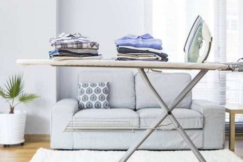 4 Places to Store Away Your Ironing Board