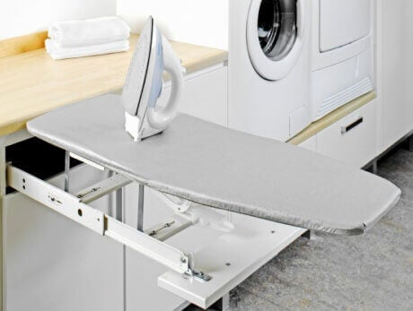 ironing board pull out