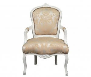 Louis XV rococo chair.