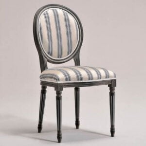 A Louis XVI neoclassical chair.