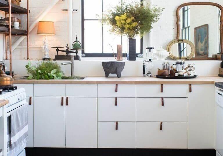 low cost kitchen decor plants