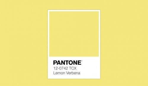 Lemon Verbena is a yellow.
