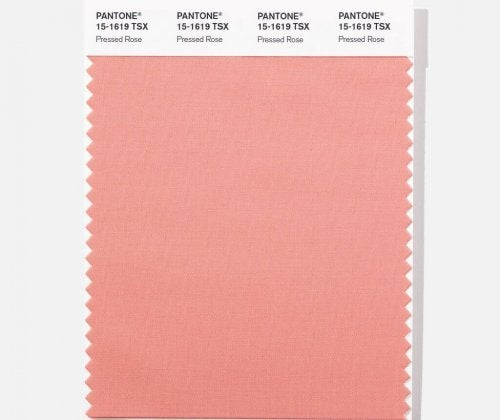 Pressed Rose is another of the spring Pantone colors.
