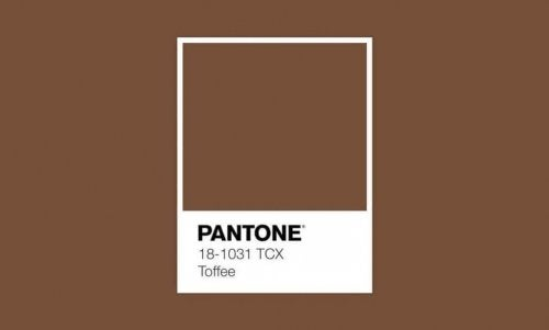 A swatch of a brown color.