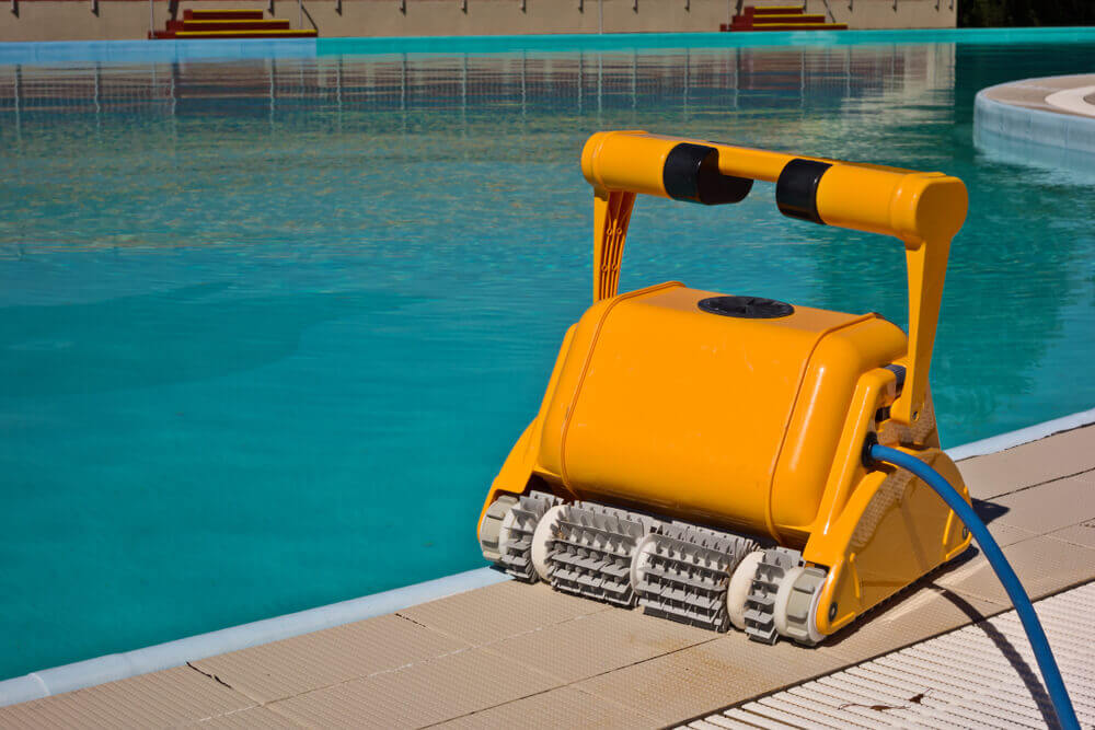 robotic pool cleaner installation