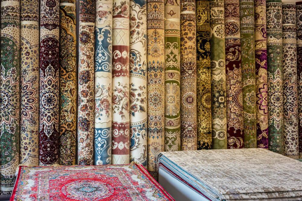 Damascus rugs cotton