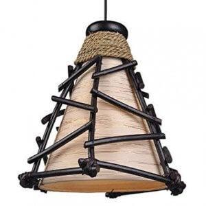 핸드메이드 아프리카 스타일 램프.