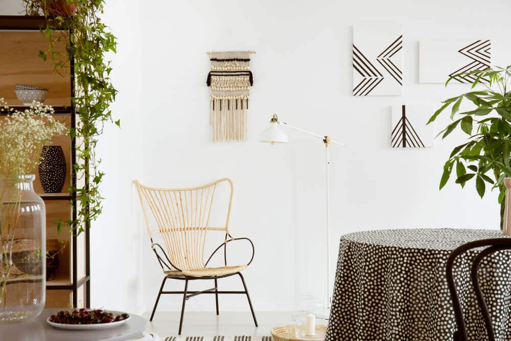 boho decor style furniture