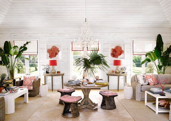 Alessandra Branca masterfully incorporates pinks into her designs.