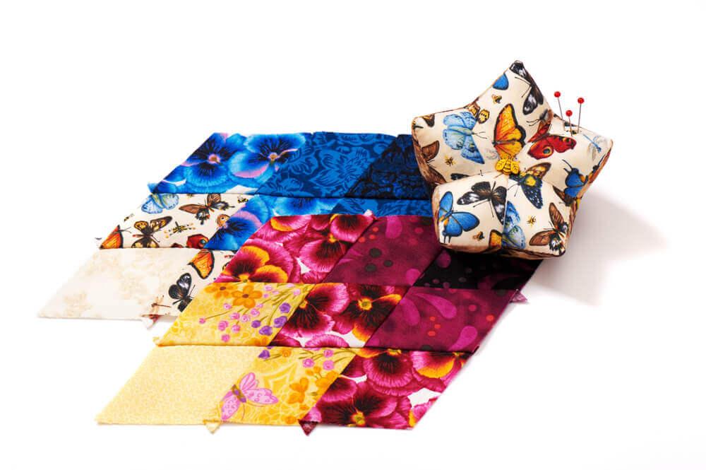 diamond decor fabric