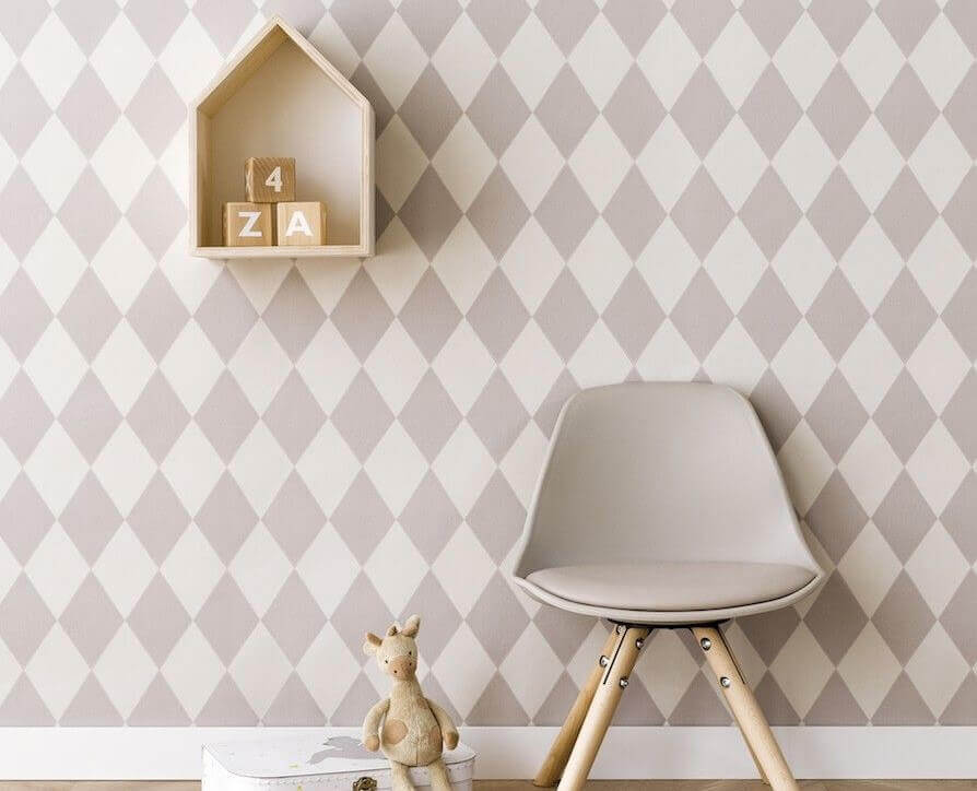 diamonds decor wallpaper