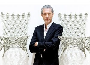 The famous Marcel Wanders Knotted Chair.