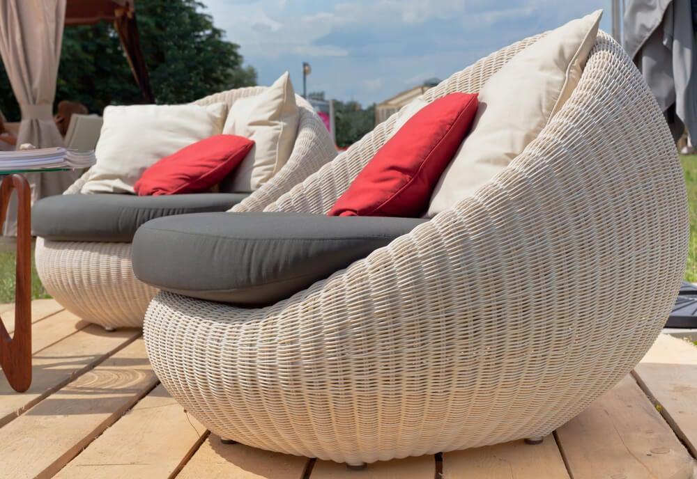 natural fiber furniture chairs
