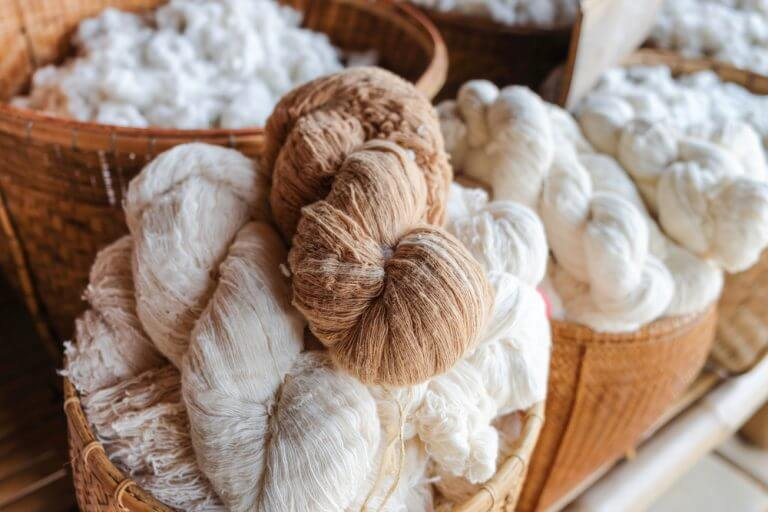 Cotton is the most utilized fiber in the world