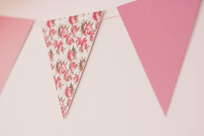 string pennants trianglar