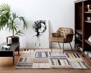 Handmade Sukhi rugs.