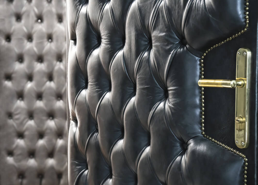 upholster decorate door cushion