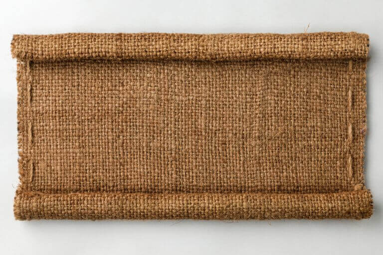 Natural fibers such as jute are economical and useful in decor