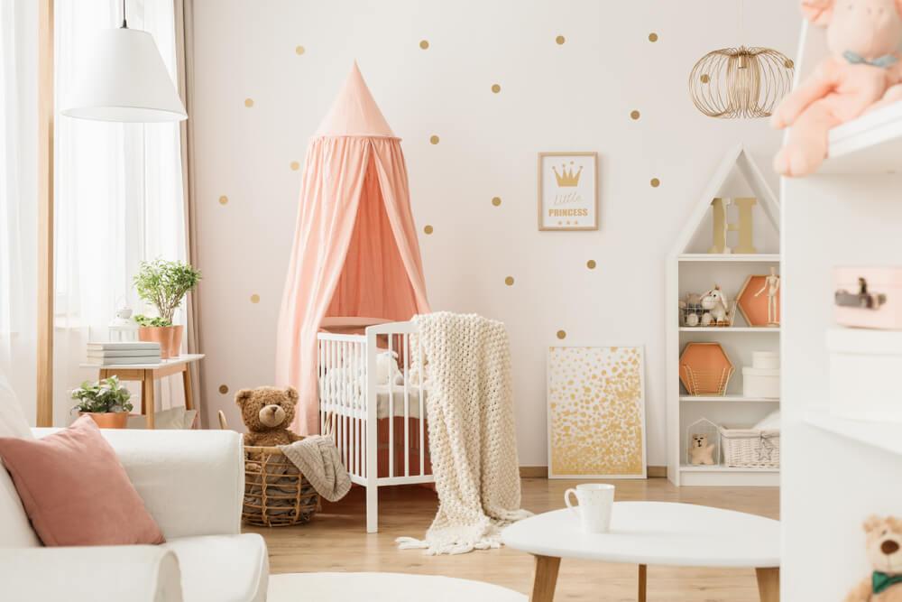 baby cribs canopy