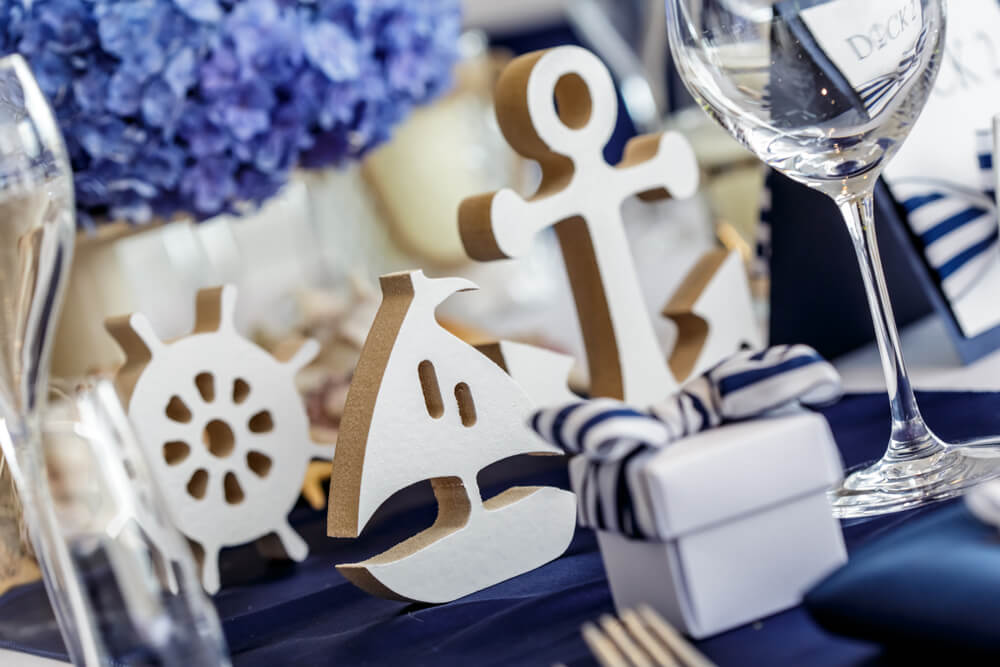 baby shower sailor decor