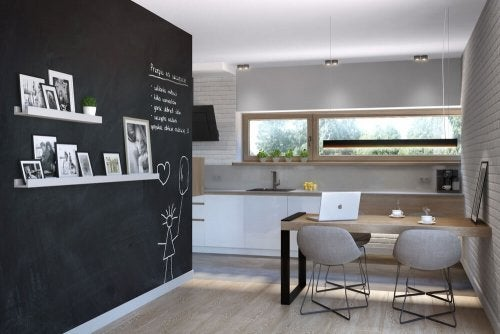 Chalkboard Walls for your Dining Room