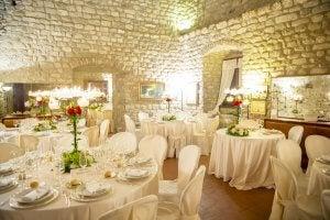 Wedding dining room.