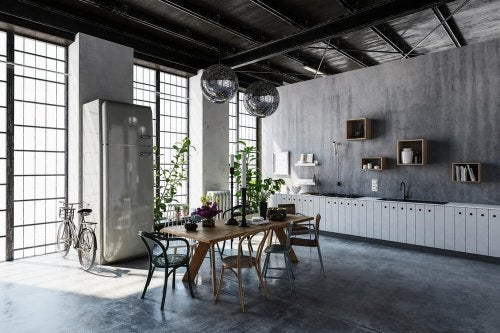The Industrial Style – Decorate With Metal and Steel