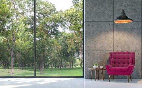 Large Windows to Maximize Natural Light